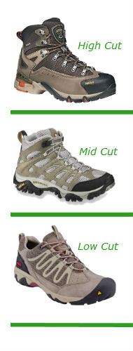 Hiking Boot Cuts