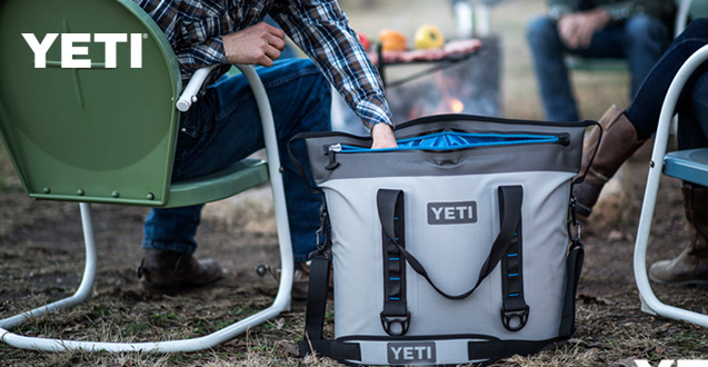 Built for the long haul, Shop Yeti